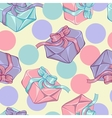gift boxes texture vector image