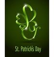green clover vector image vector image
