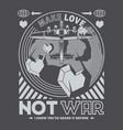 not war vector image vector image