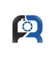 photography logo shutter logo design r shutter vector image