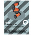 pipes color isometric poster vector image vector image