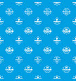 premium meat quality pattern seamless blue vector image vector image