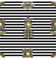 seamless pattern from textile embroidered patches vector image vector image