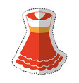 typical spanish costume icon vector image