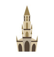 bern minster isolated historic architecture vector image vector image