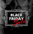 creative black friday sale label vector image vector image