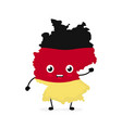 cute funny smiling happy germany vector image vector image