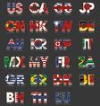 Flag - Countries - Abbreviation