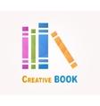 logo design element Book read library vector image vector image
