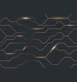 seamless futuristic dark iron techno vector image
