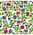 Texture in Islamic Foral Motif vector image