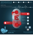 Vitamin E Pill Capsule Health And Medical vector image vector image