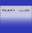 glitch vhs effect old camera screen no signal vector image