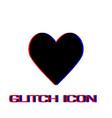 Heart icon icon flat