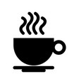 icon coffee vector image