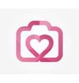 logo design element Camera like vector image