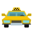 Taxi icon flat style vector image