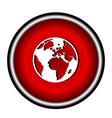icon world vector image