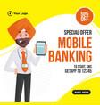 banner design mobile banking