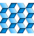 blue tile seamless background vector image vector image
