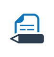 copy writing article writing icon