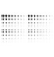 halftone gradient texture pattern backgrounds vector image vector image