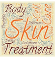 In Your Skin Some Facts on the Body s Largest vector image vector image