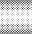 Monochrome concentric circle pattern design vector image vector image