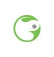 natural wellness logo icon design template vector image vector image