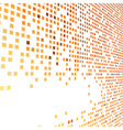 Orange bright tiles empty background vector image vector image