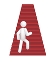 steps vector image vector image