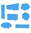 bubble speech vector image