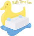 Bath Time Fun vector image vector image