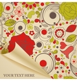decorative paper vector image vector image