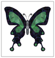 Future Butterfly vector image vector image