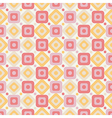 Geometric abstract seamless pattern on white vector image vector image