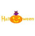 Halloween owl vector image