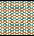 link design pattern vector image vector image