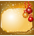 new year blank vector image vector image