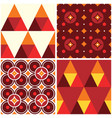 60s and 70s style seamless pattern