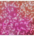 Abstract bright pink mosaic background vector image vector image