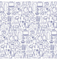 blog object seamless pattern vector image vector image