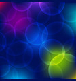 bokeh circle abstract background vector image vector image