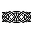 celtic national ornament vector image vector image