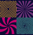 creative of hypnotic vector image vector image