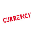 currency rubber stamp vector image