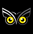 Eyes Owl vector image