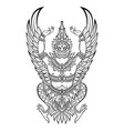 garuda bird of vishnu vector image