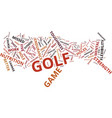 golf facts that will change your game text vector image vector image