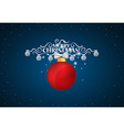 Holiday gift coupons with gift bows and christmas vector image vector image